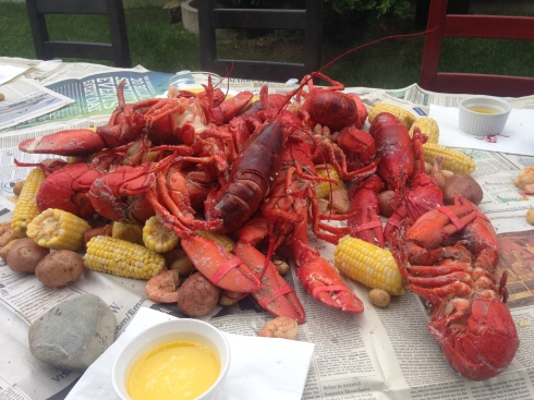NH lobster boil